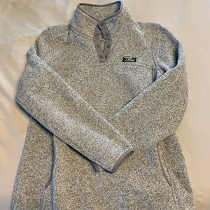 LL Bean Women's Sweater Fleece Pullover